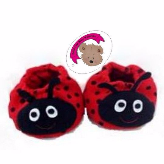 Red Bug Slippers Shoes