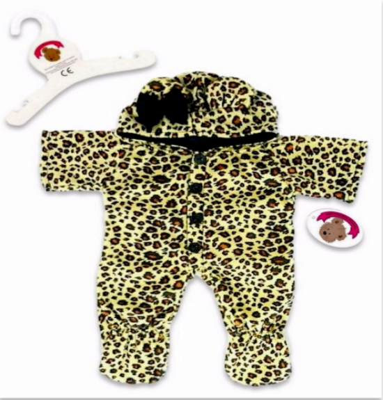All In One Leopard Sleeper Outfit