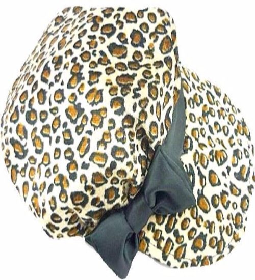 Animal Print Fashion Cap - Hat