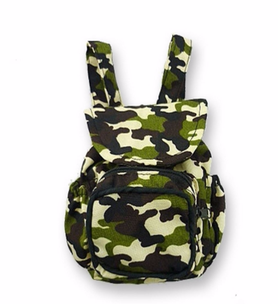 Army Backpack Zip Pockets