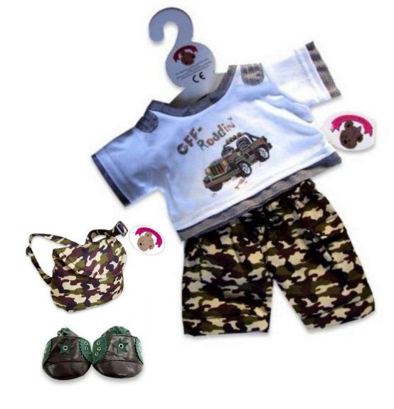 Bear Clothes Boy OUTFITS & SETS