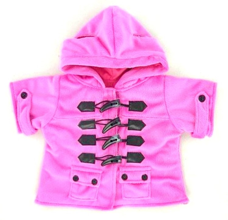 Candy Pink Duffle Coat