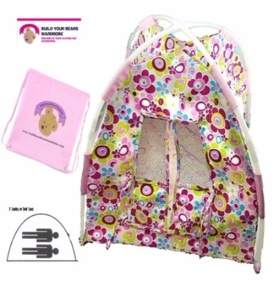 Floral Tent with Storage Bag