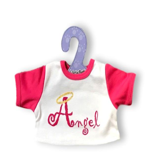 T-Shirts Angel Top Teddy Bear Clothes