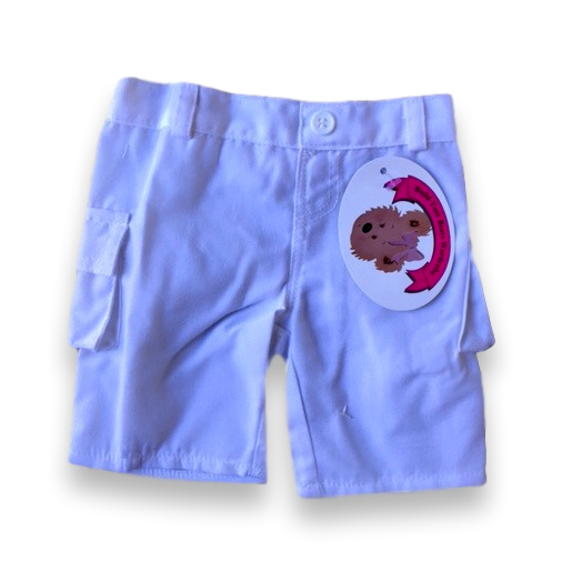 teddy bear clothes white trousers fitting build a bear teddies of 38-40 cm, lovely addition from Build Your Bears Wardrobe Ltd.